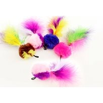 Kattleksaker Purrs Pompom Feather Attachment