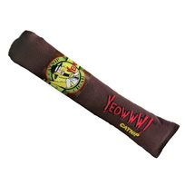 Kattleksak Yeowww Brun Cigar cat toy