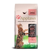Kattfoder Applaws katt Adult Chicken with extra Salmon