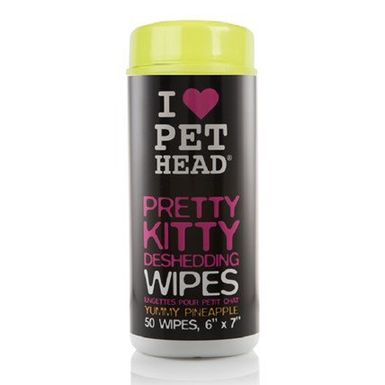 PET HEAD PRETTY KITTY WIPES 50-pack
